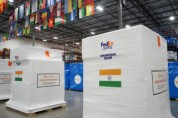 페덱스, 인도에 긴요한 코로나19 대응 지원 물품 운송